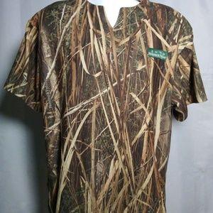 Men's XL Camo Tee Forest Brown Shirt